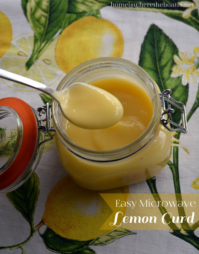 Easy Microwave Lemon Curd