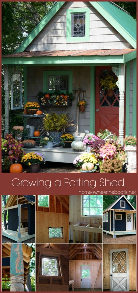 Growing a Potting Shed from the Ground Up