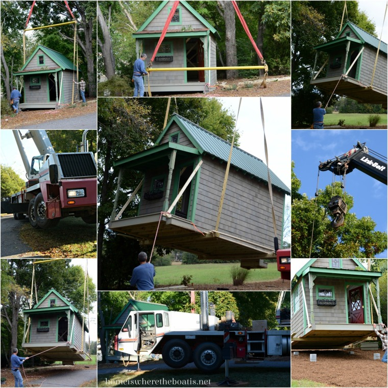 Moving a Potting Shed