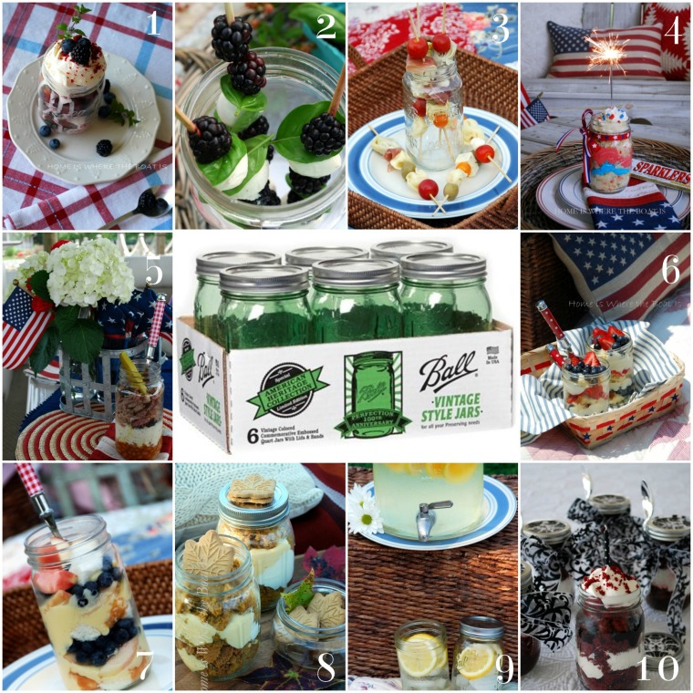 Spring Green Heritage Ball Jar Giveaway, Home is Where the Boat Is