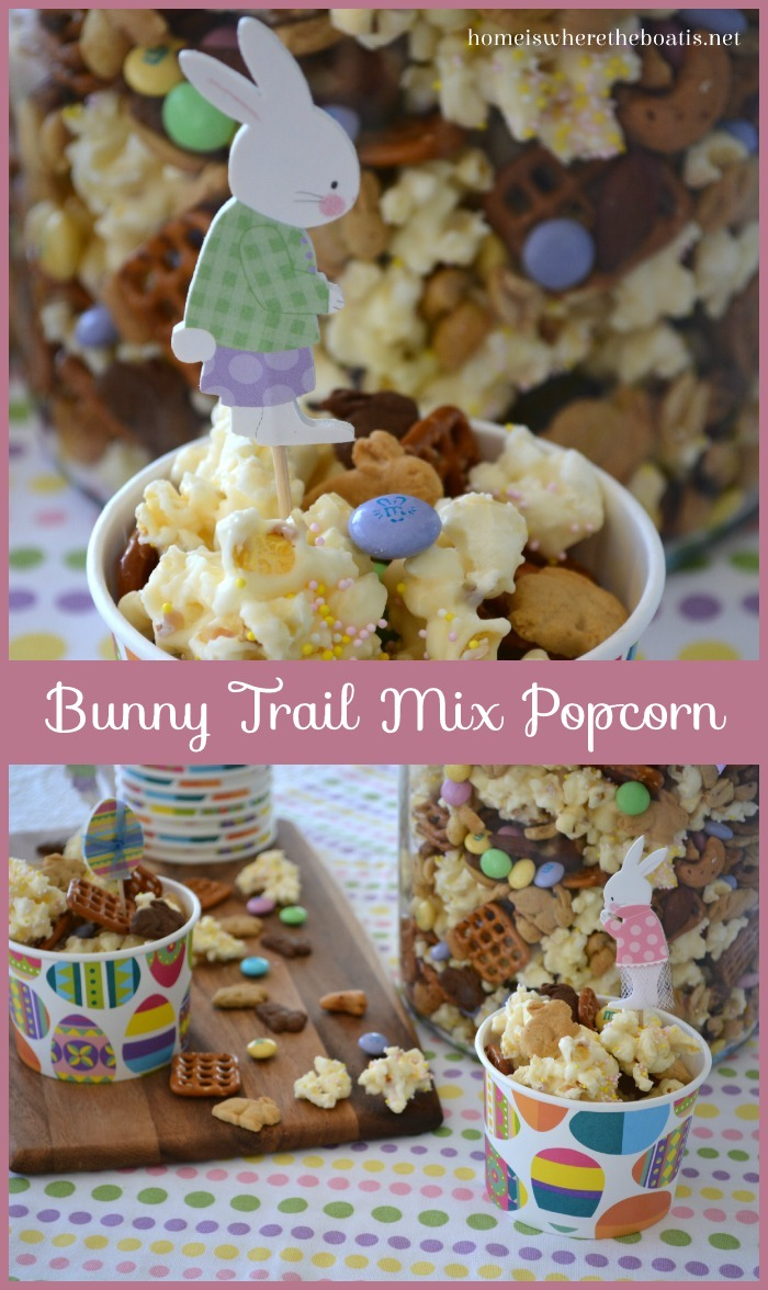 Bunny Trail Mix Popcorn