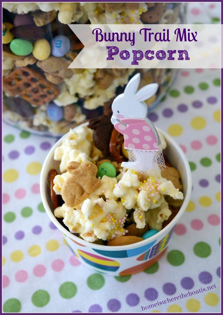 Bunny Trail Mix Popcorn