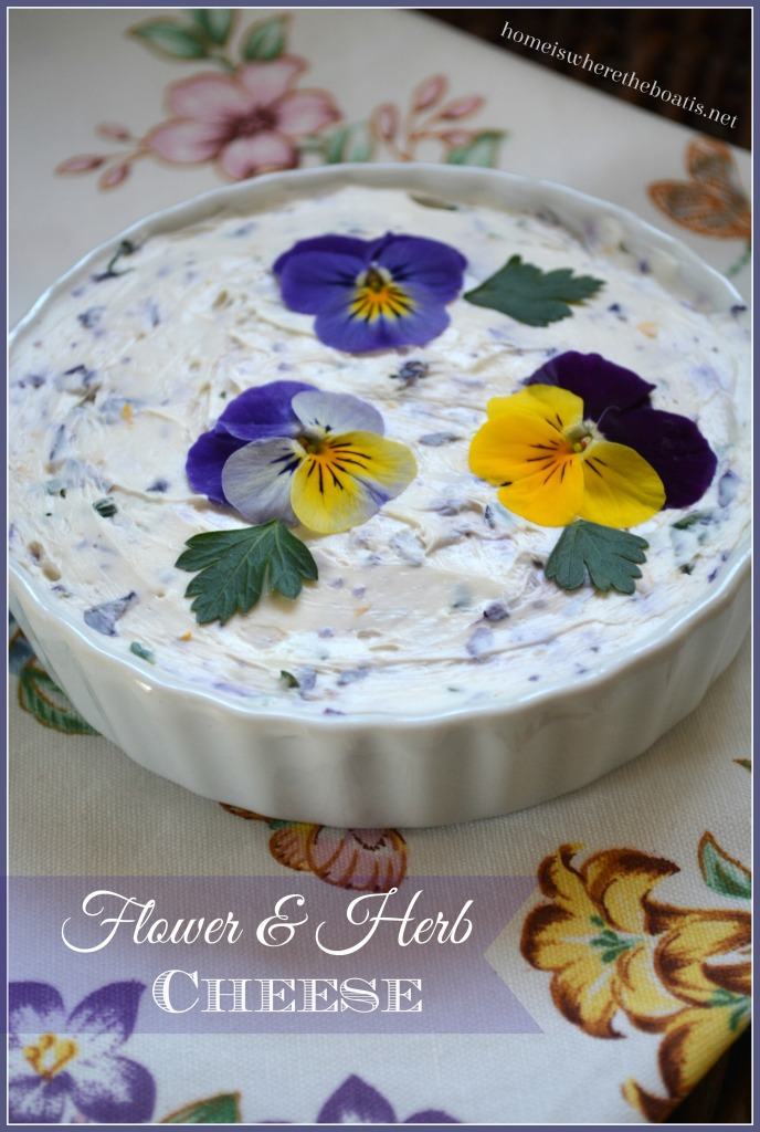 Flower & Herb Cheese