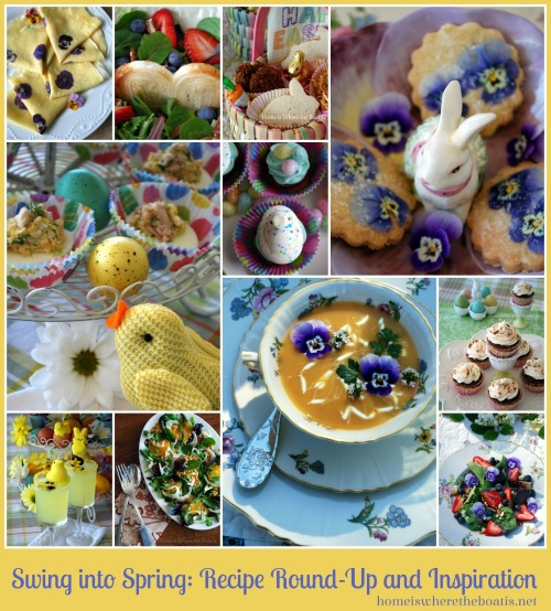 Spring & Easter Recipe Round-Up