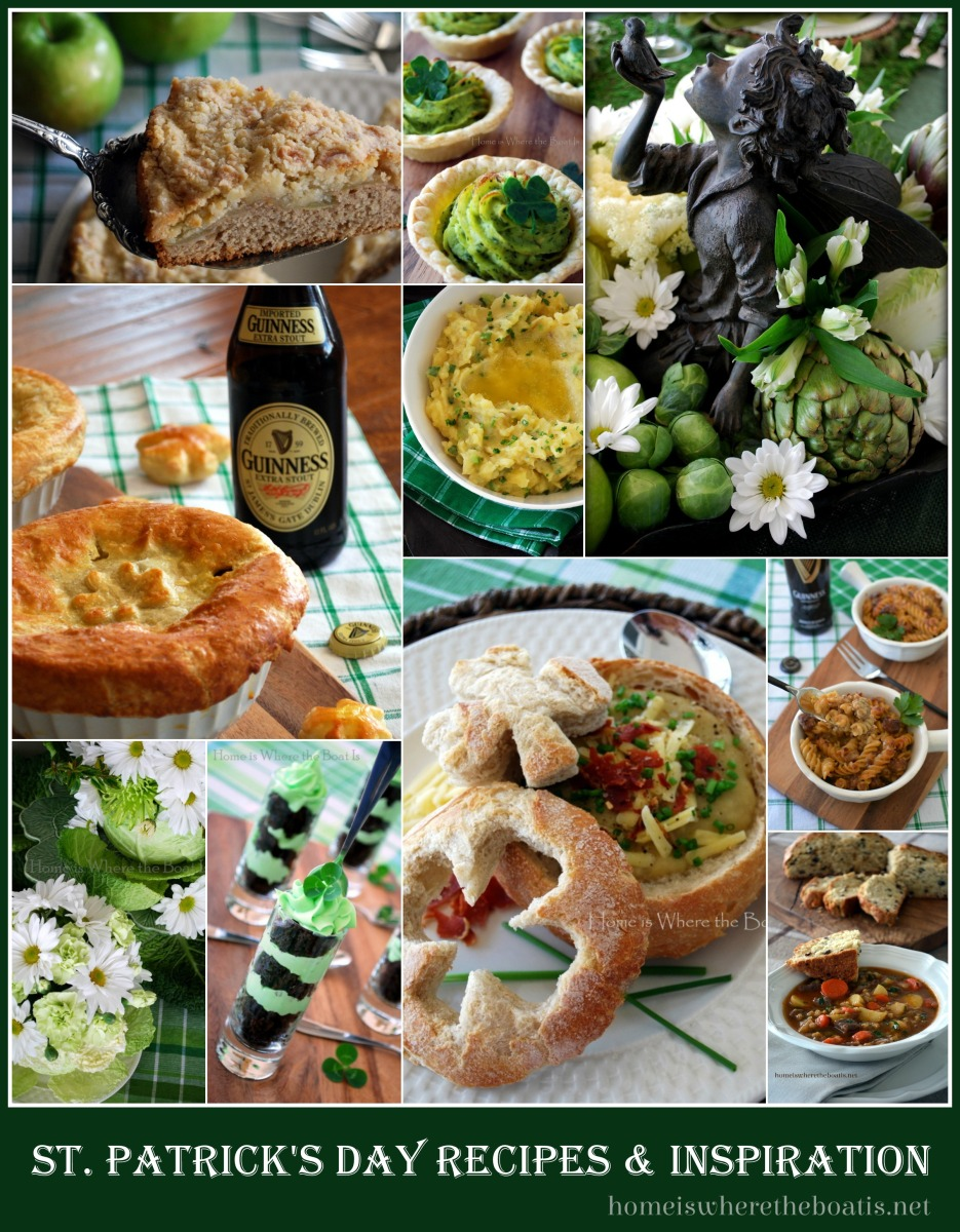 For the Love of The Irish: Recipe Round-Up & Inspiration