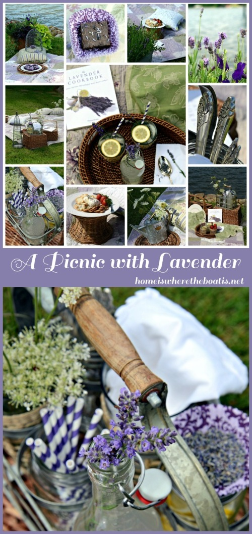 A Picnic with Lavender