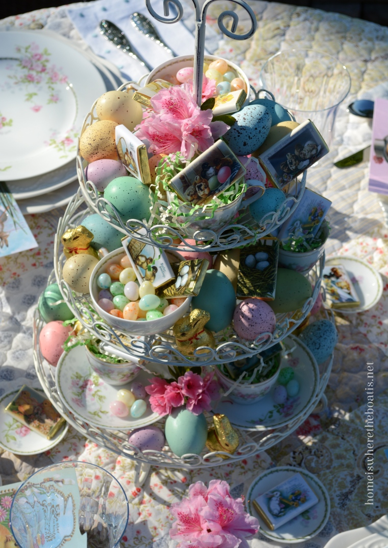 At The Table With Easter Greetings Home Is Where The Boat Is