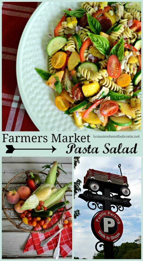 Farmers Market Pasta Salad