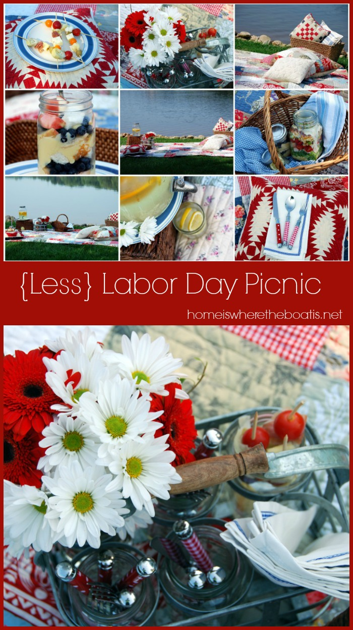 Less Labor Day Picnic Home Is Where The Boat Is