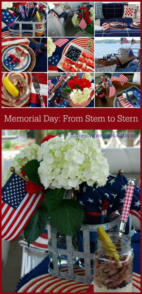Memorial Day From Stem to Stern