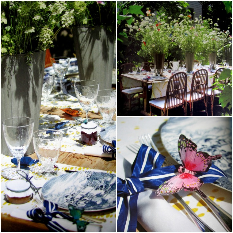 Butterfly Luncheon, An Invitation to the Garden
