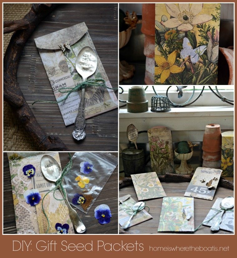 DIY Gift Seed Packets & Envelopes