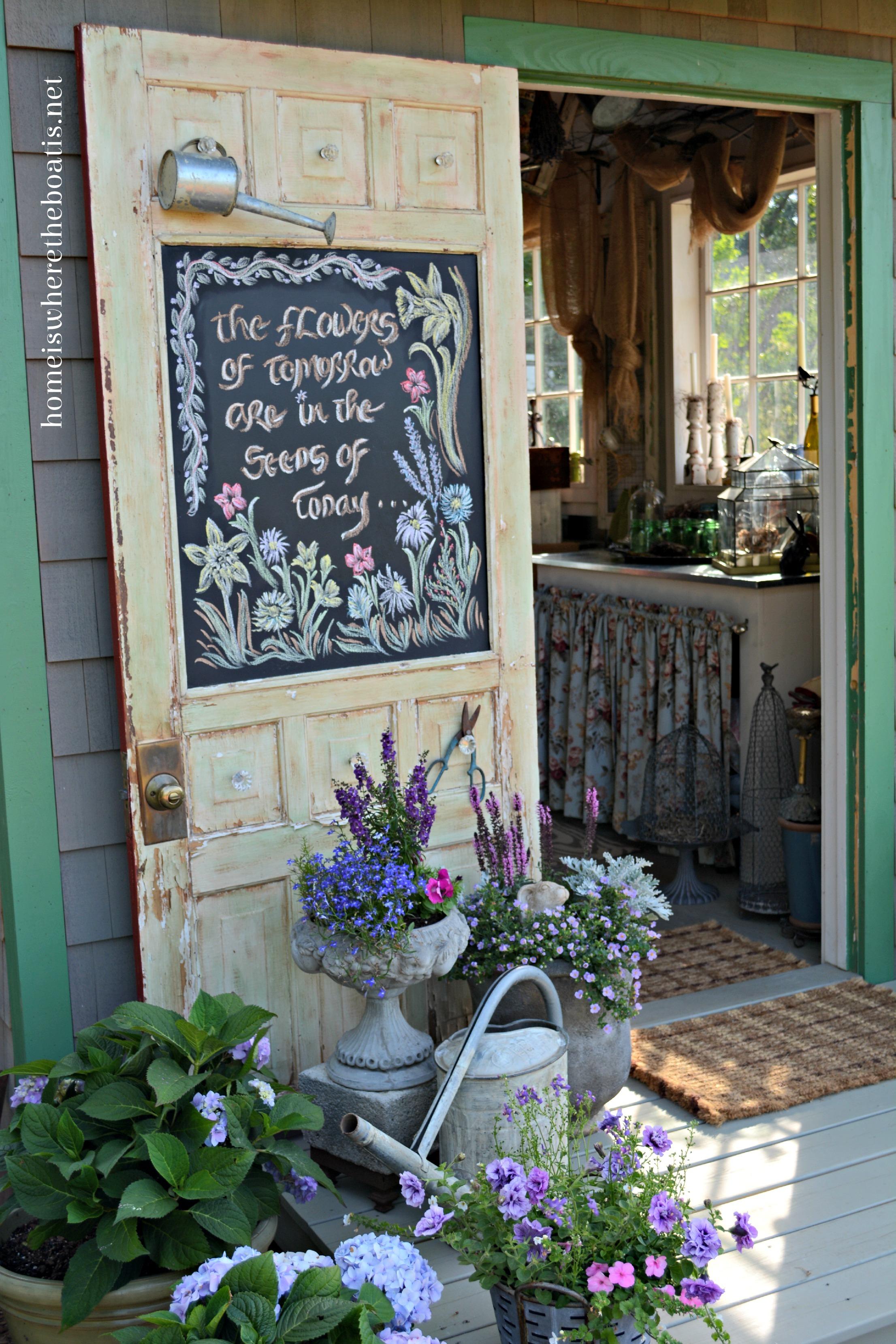 Diy Garden Shed Porch