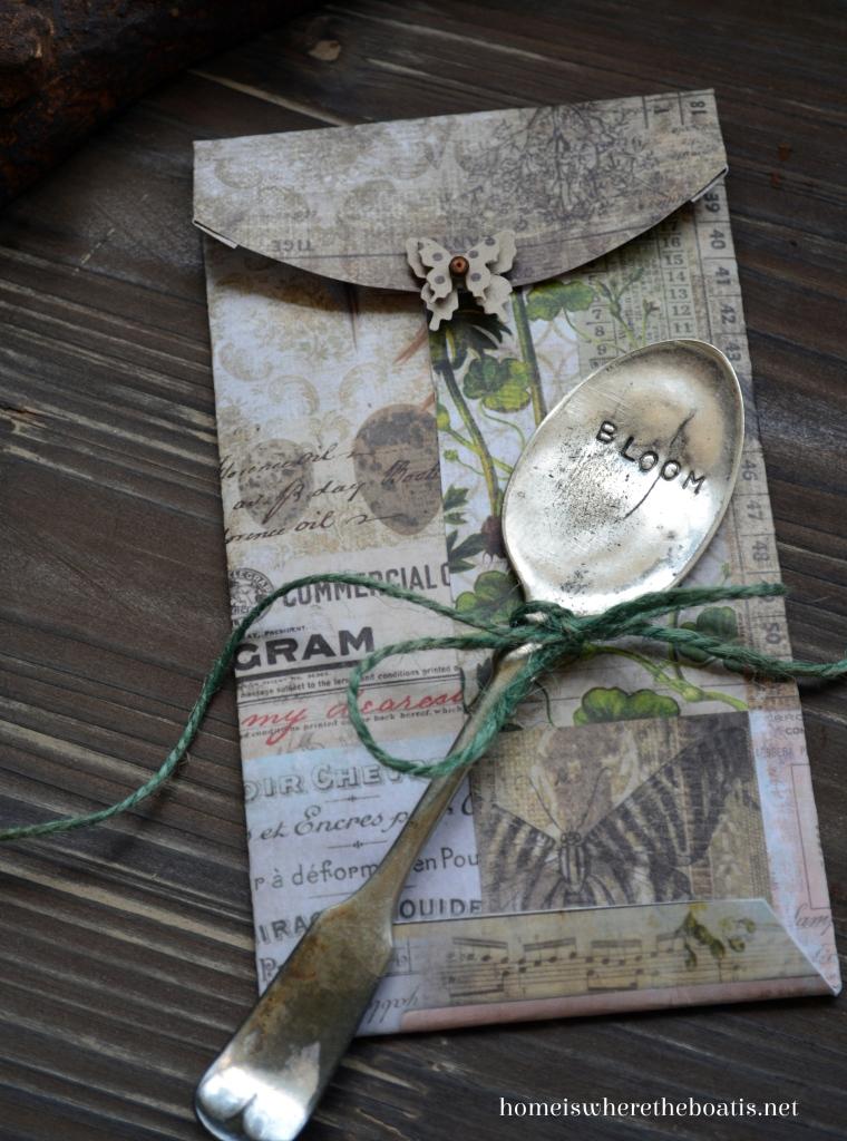 seeds of inspiration  diy seed gift envelopes  u2013 home is