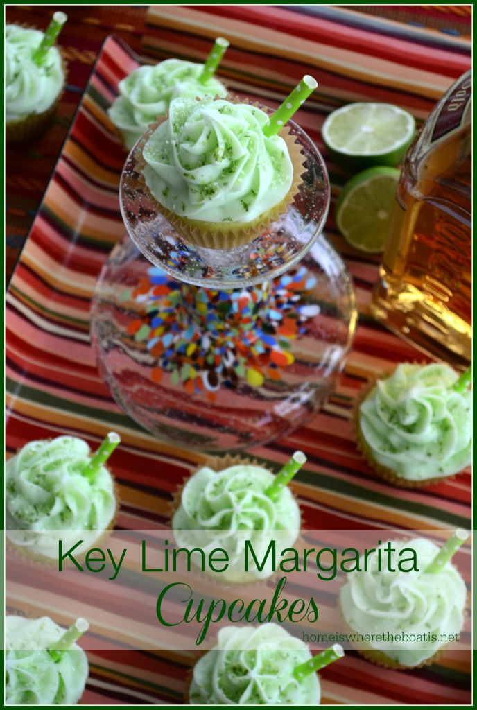 Key Lime Margarita Cupcakes