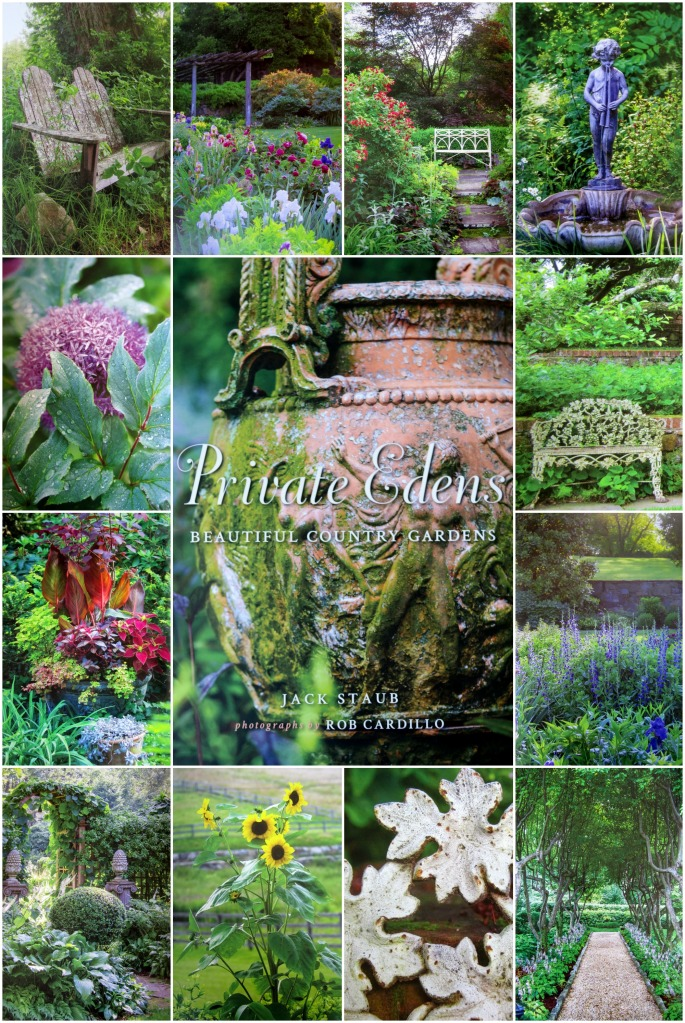 Private Edens: Beautiful Country Gardens by Jack Staub