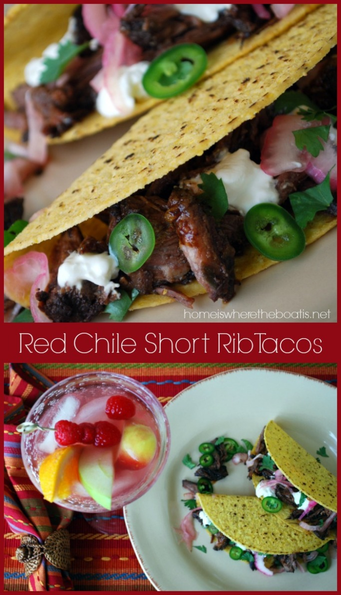 Red Chile Short Rib Tacos