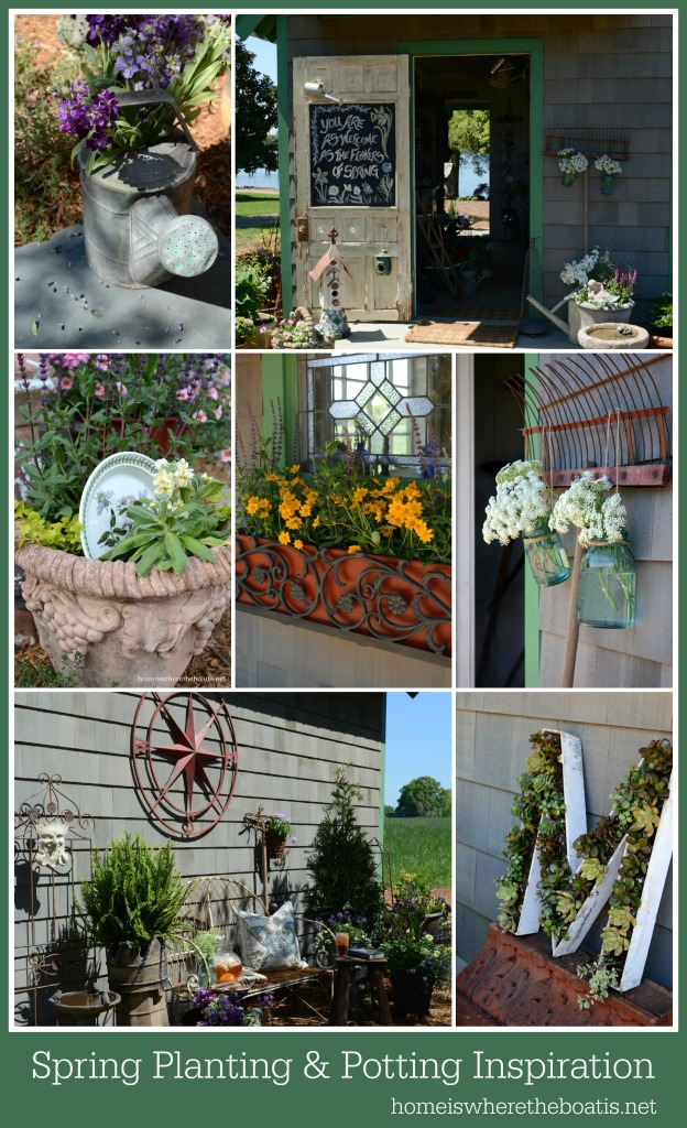 Spring Planting and Potting Inspiration  Home is Where the Boat Is