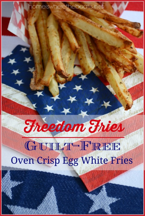 Guilt-Free Oven Crisp Egg White Fries