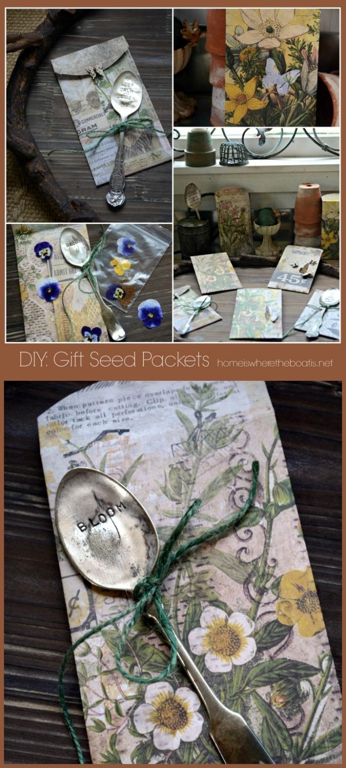 Seeds of Inspiration: DIY Seed Gift Envelopes