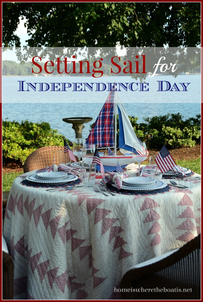 Setting Sail for Independence Day