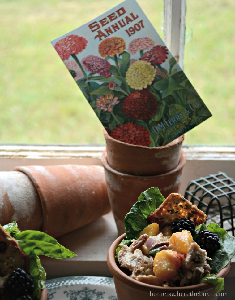 A Vintage Garden Picnic In The Potting Shed Home Is