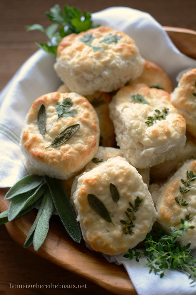 Growing up in the South, I was served biscuits at breakfast, brunch, lunch and dinner. Each family and restaurant has their own specific way of making them. Some are skinny and tall, others flat and wide, and some come nestled together like Parker House rolls in cast-iron pans. Served with butter or.