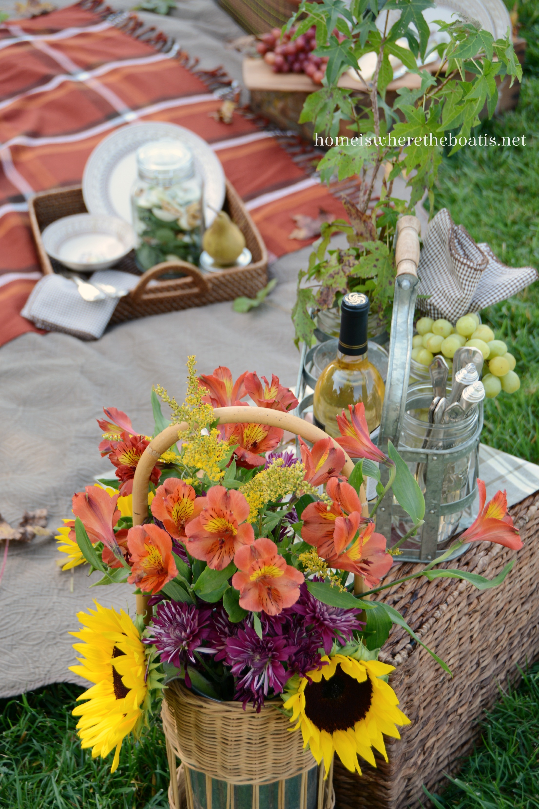 The Flavors Of Fall Picnic Home Is Where The Boat Is
