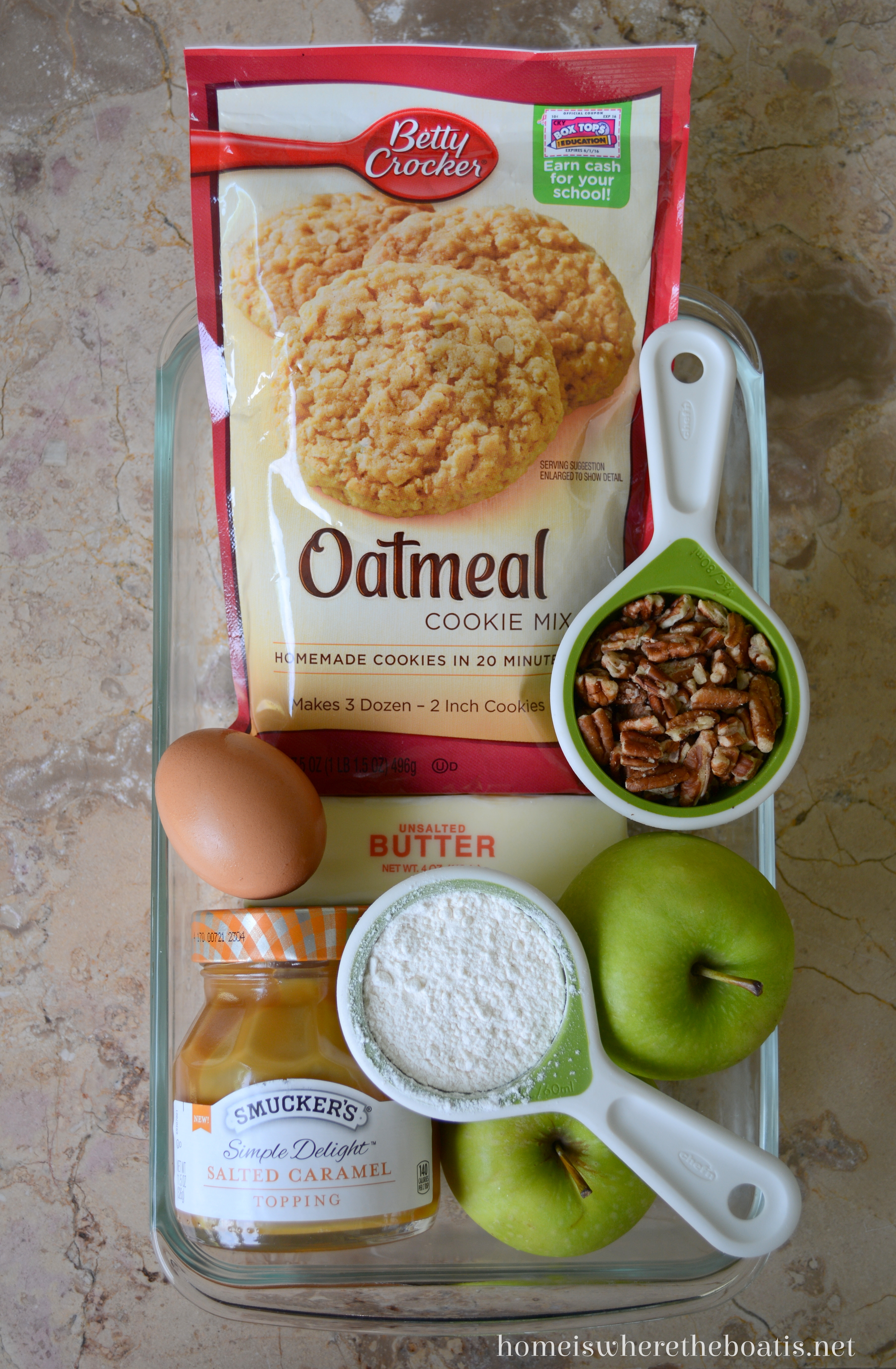 Easy Caramel Apple Bars! – Home is Where the Boat Is