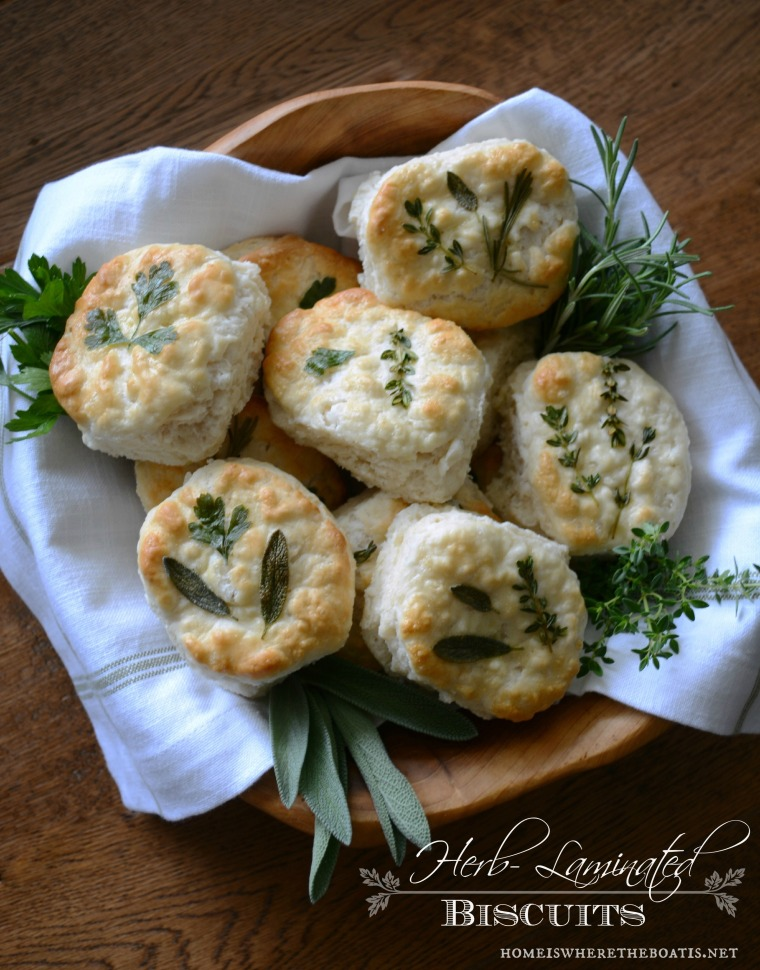 From Frozen to Fancy Herb-Laminated Biscuits