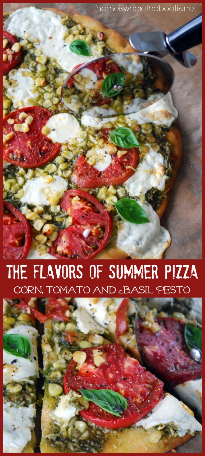 The Flavors of Summer Pizza