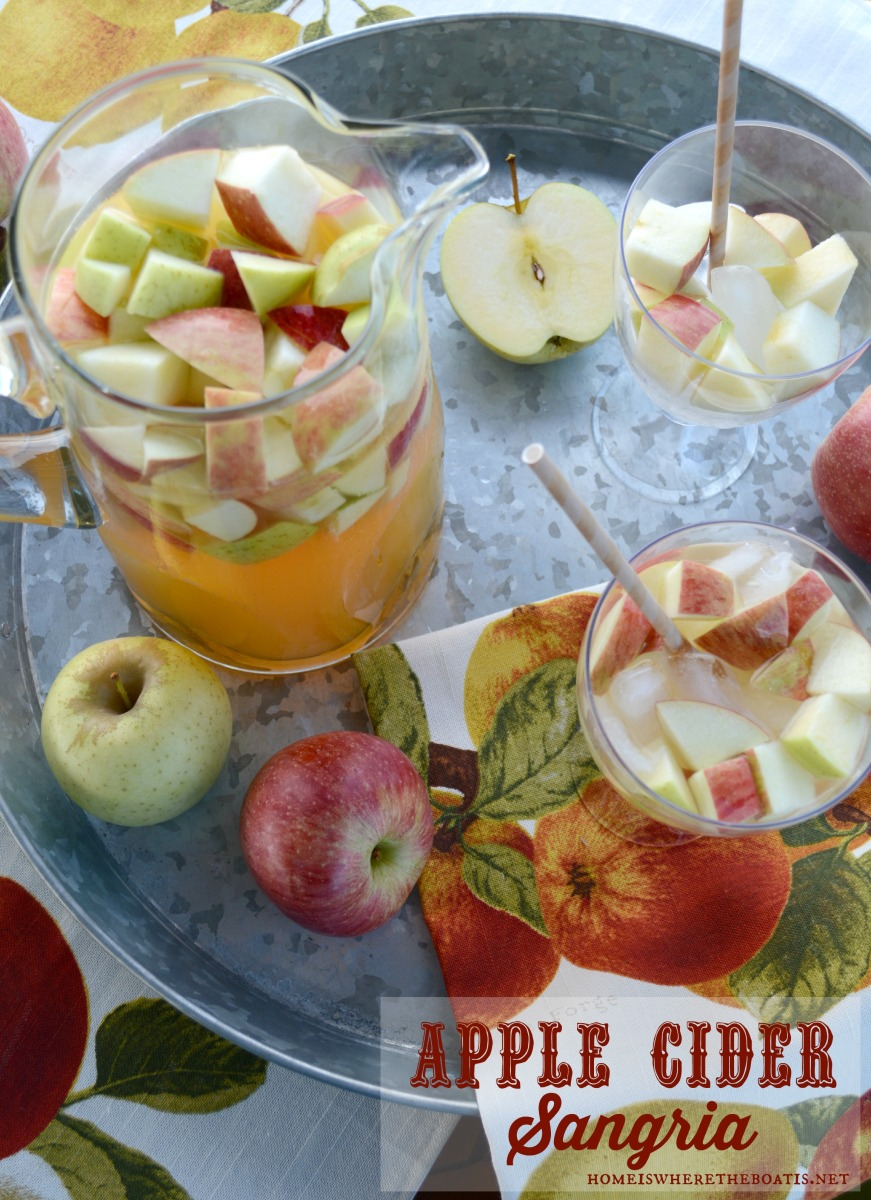 Fall Sipping: Apple Cider Sangria