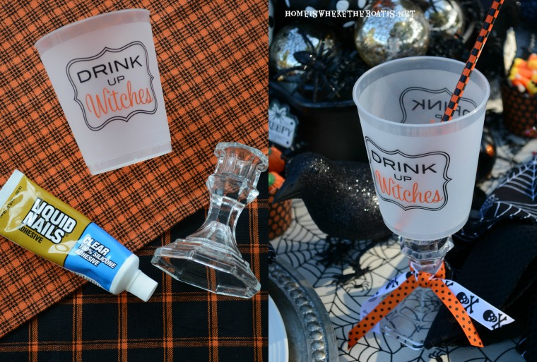 Drink Up Witches DIY Cup
