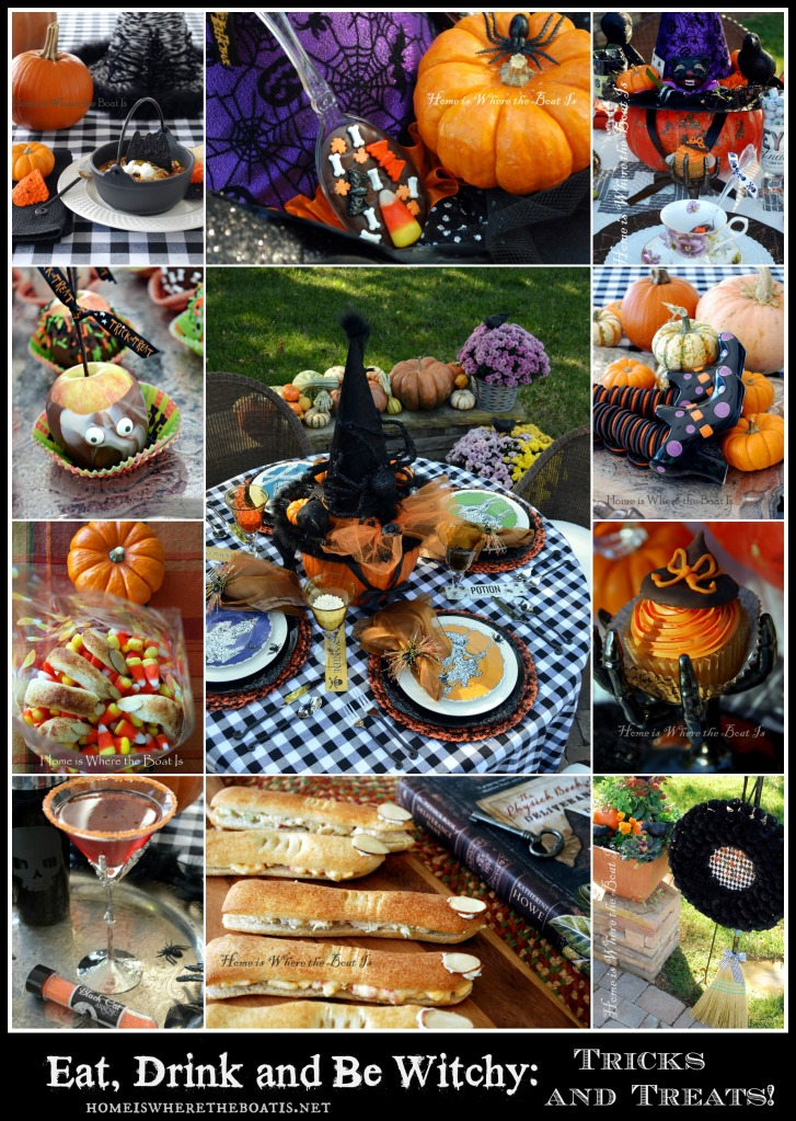 Eat, Drink and Be Witchy Tricks & Treats!