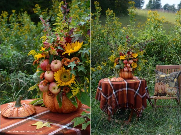 Pumpkin Tureen Vase