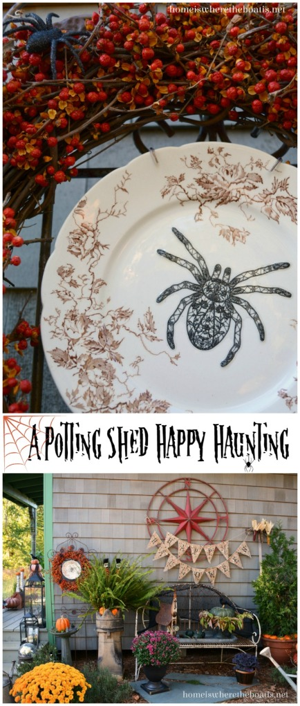 A Potting Shed Happy Haunting