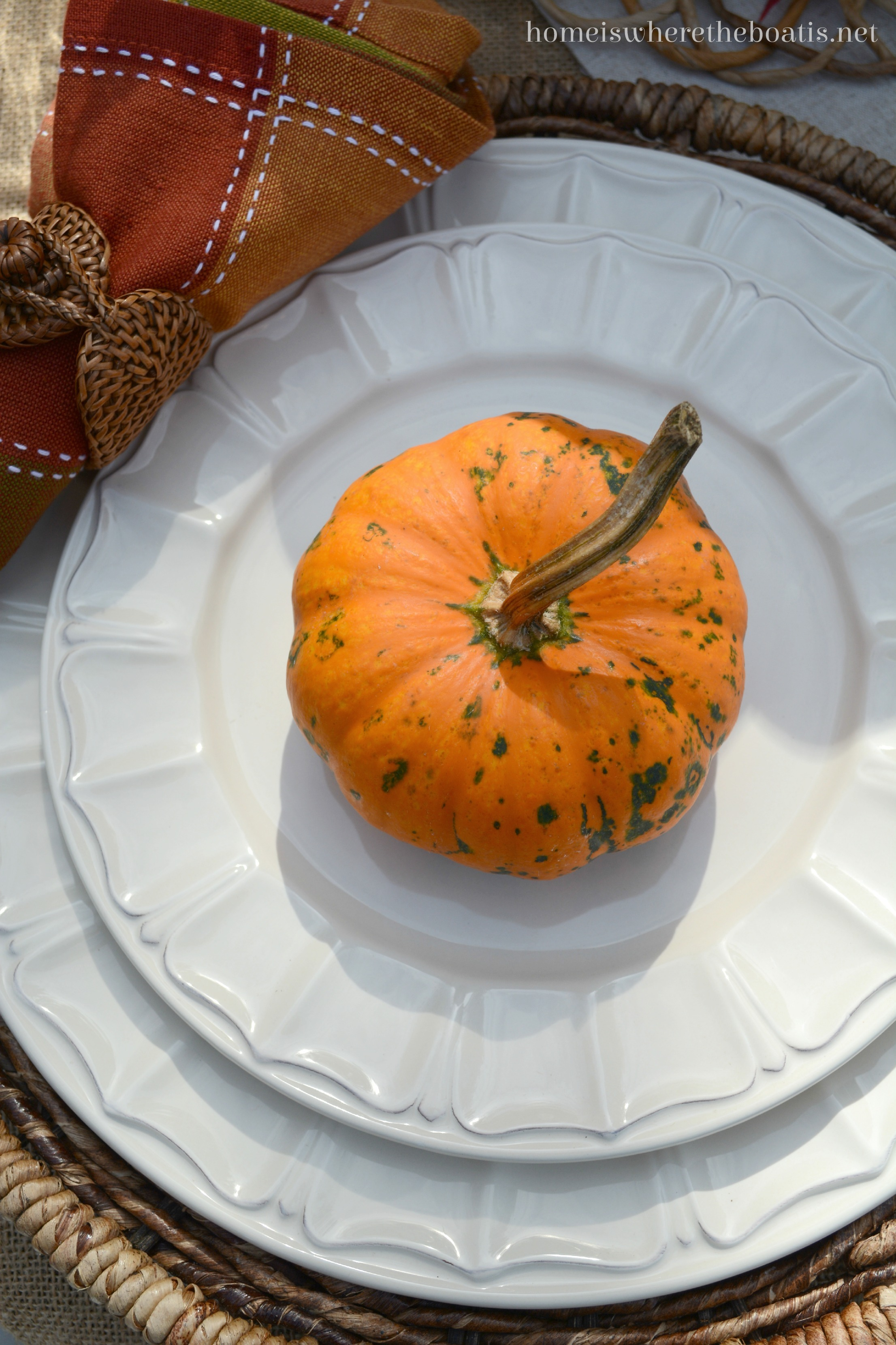 Pfaltzgraff Delaney Dinnerware! & At the Table: Pumpkins and Pfaltzgraff Delaney Dinnerware u2013 Home is ...