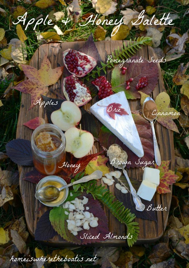 Apple & Honey Galette Ingredients