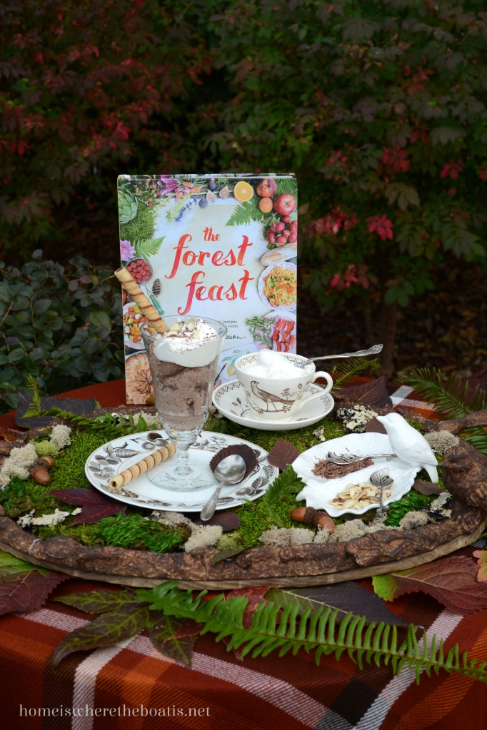 The Forest Feast and Chocolate Ricotta Mousse Recipe