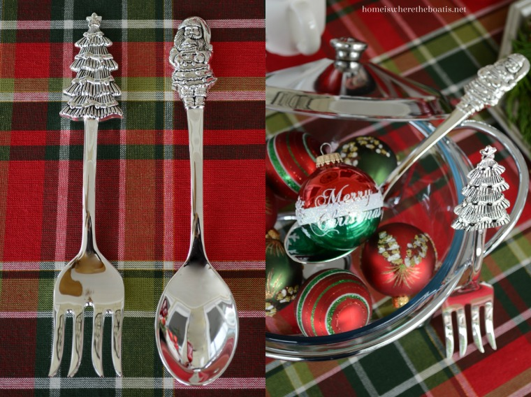 Towle Holiday Wishes Salad Serving Set