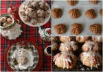 Bourbon-Pecan-Gingerbread Cookies for Santa
