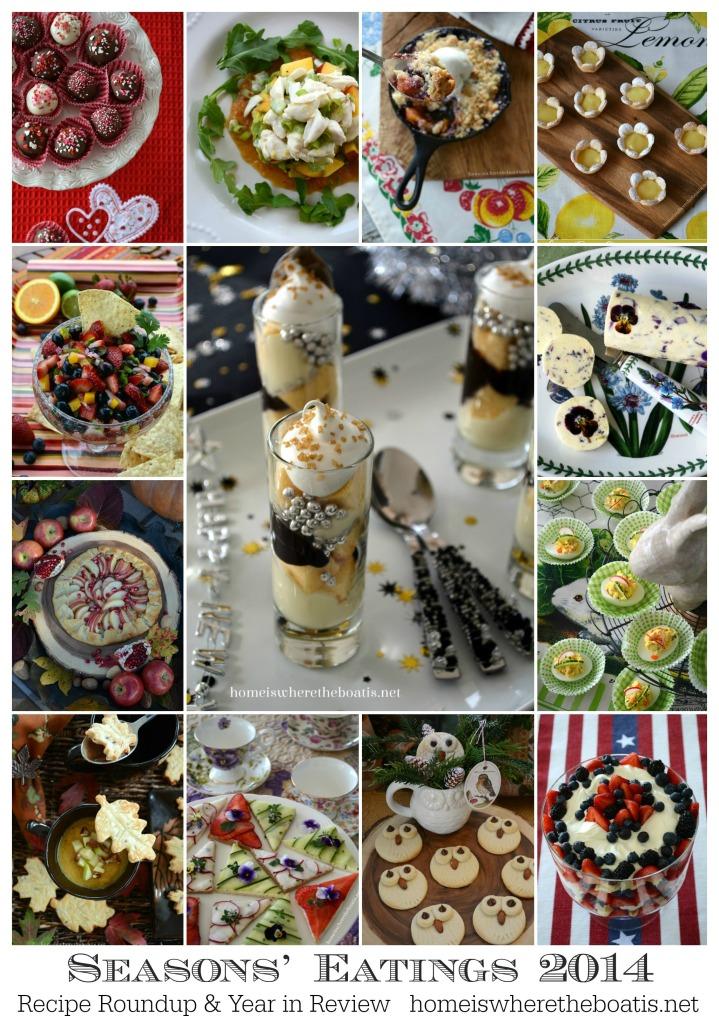 Seasons' Eatings 2014 Recipe Roundup