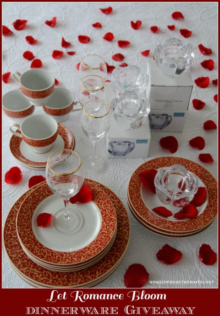 Valentine's Day Dinnerware Giveaway