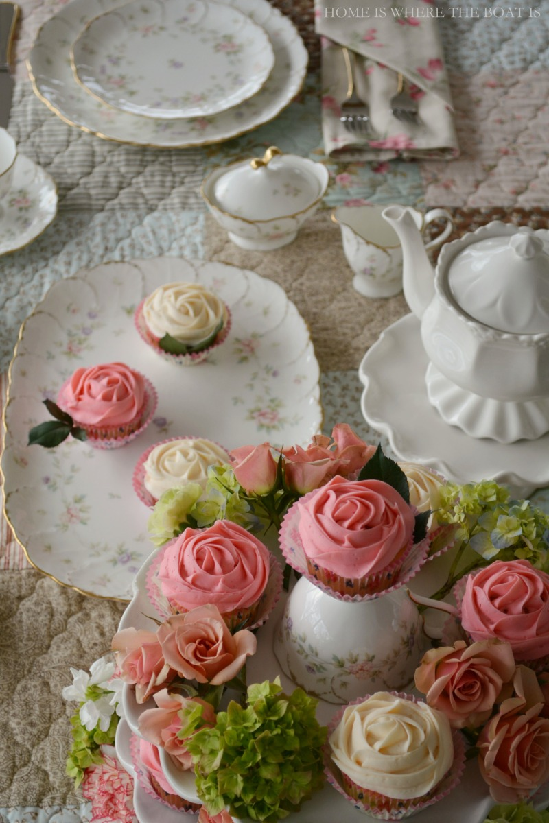 At the Table:  Delicate Florals, Edible Blooms and Mikasa Endearment Dinnerware