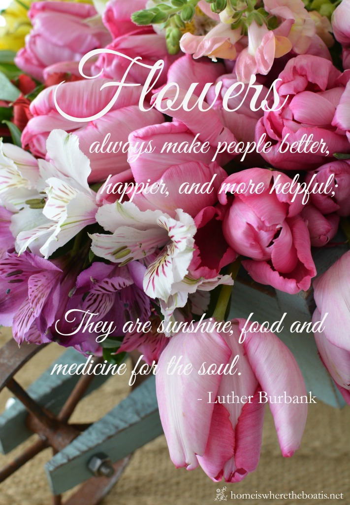 Flowers quote
