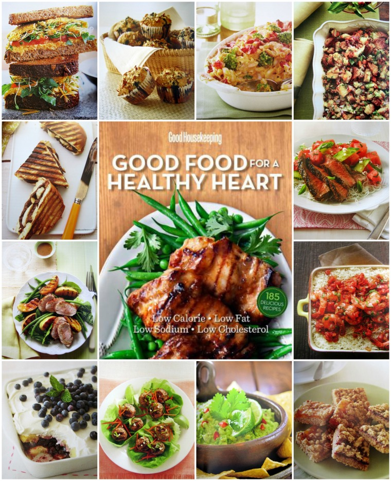 Good food for a healthy heart cookbook and giveaway home is where good housekeeping good food for a healthy heart cookbook forumfinder Choice Image