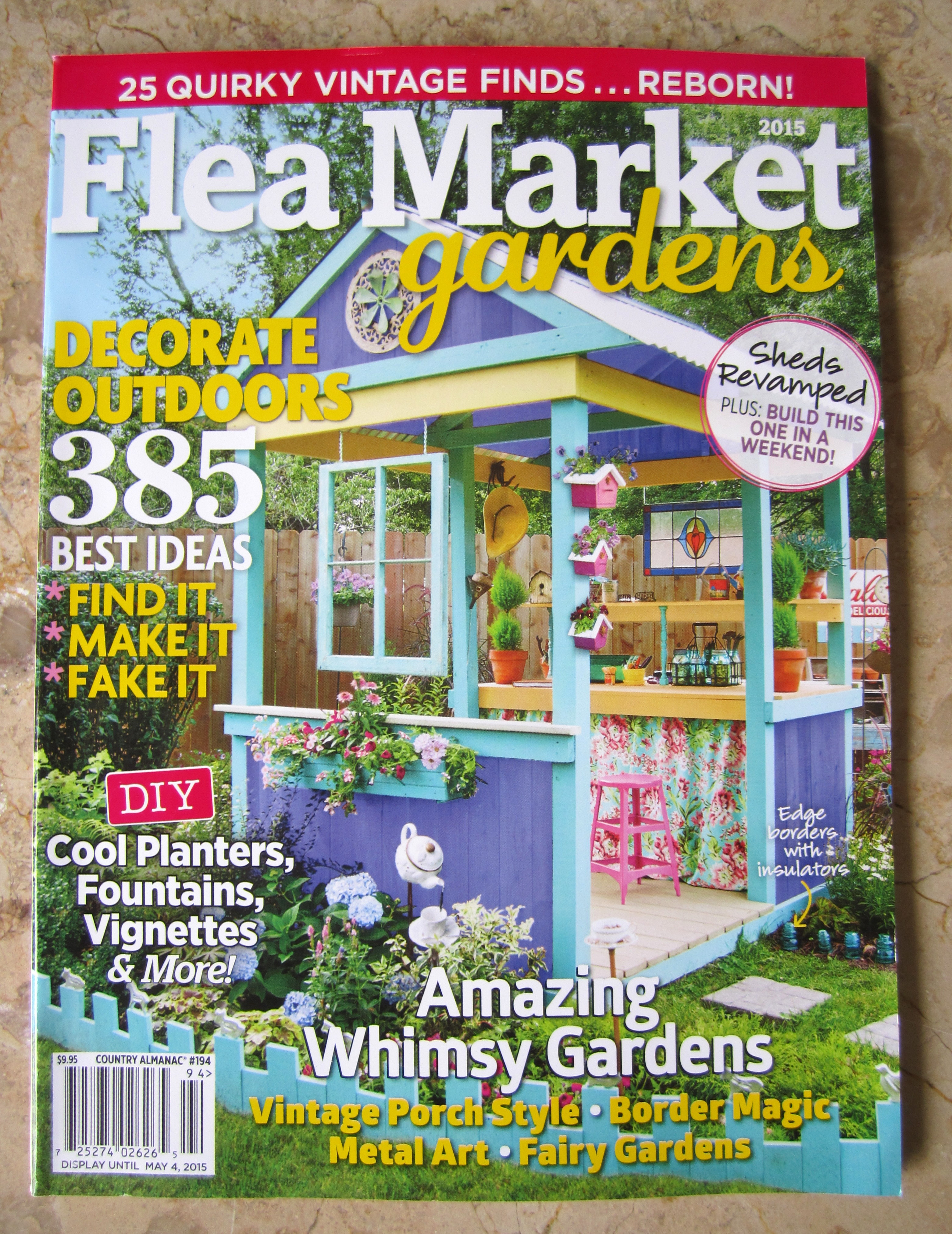 Flea Market Home Decor: Home Is Where The Shed Is In Flea Market Gardens Magazine