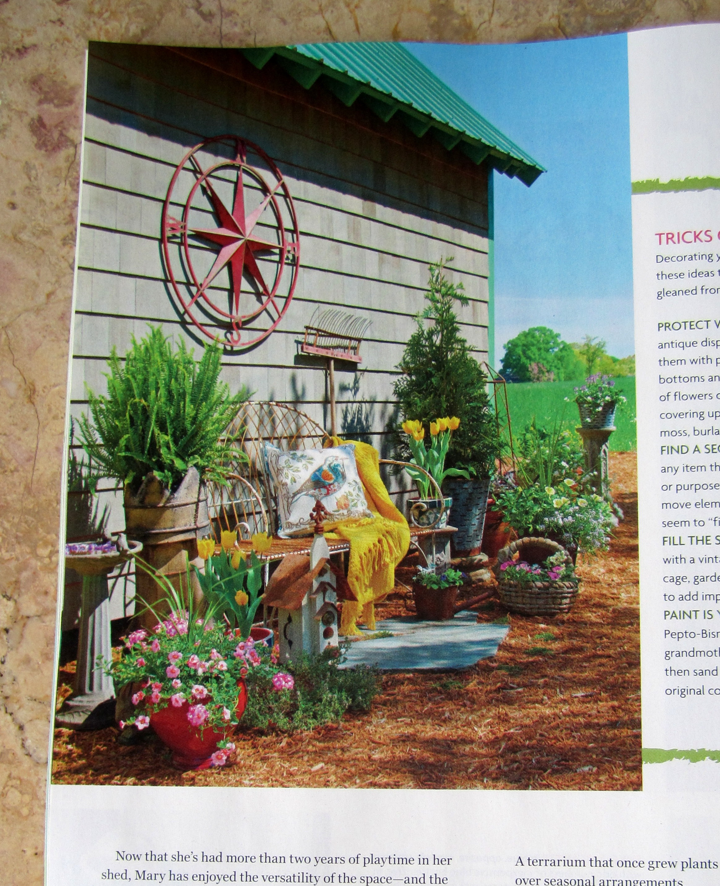 Market Home: Home Is Where The Shed Is In Flea Market Gardens Magazine