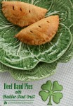 Beef Hand Pies with Cheddar-Stout Crust
