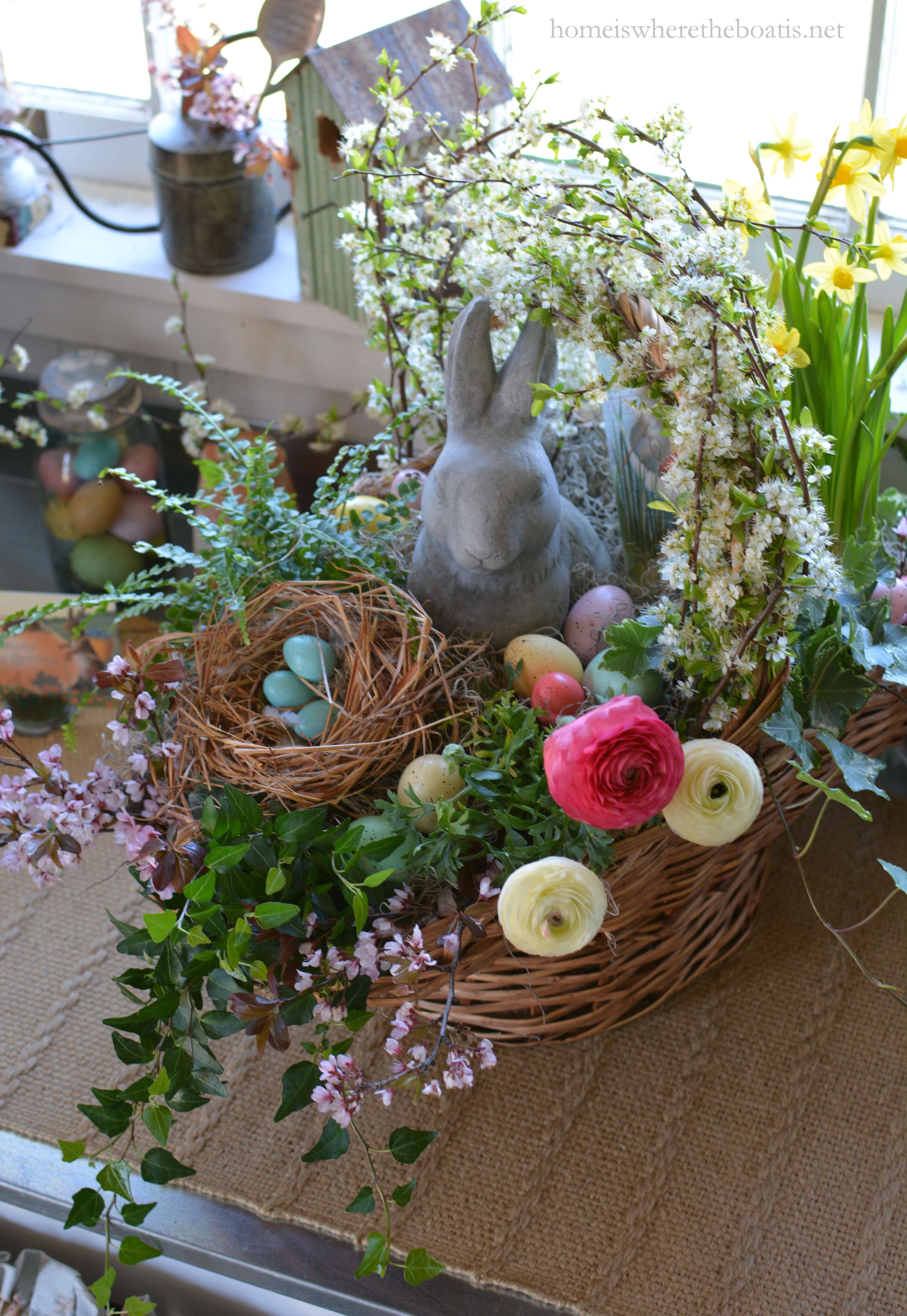 How to build a blooming easter basket home is where the